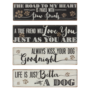 Wood Pet Block or Wall Sign