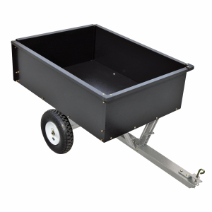 500 lb. Steel Tow Behind Dump Cart