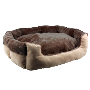 Flocking Fabric Pet Bed