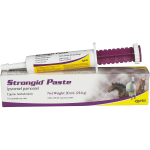 Strongid Equine Dewormer Paste