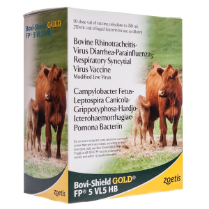 Bovi-Shield GOLD FP 5 VL5 HB Vaccine for Cows & Heifers