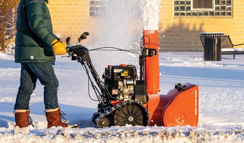 Track Drive Snow Blowers