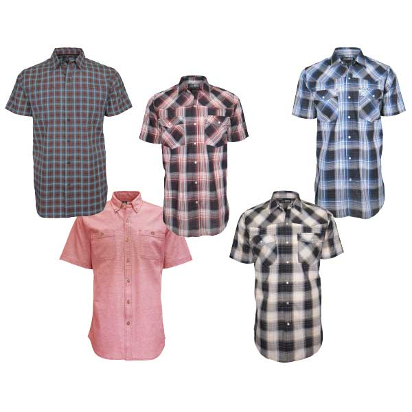 Men's Canyon Guide Short Sleeve Western Shirts