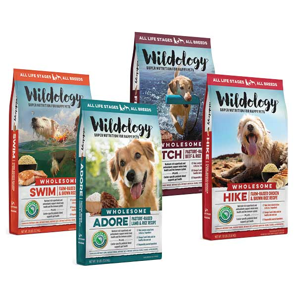 Wildology Dog Food- 28 LB or Larger