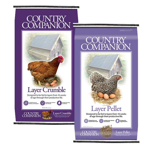 Country Companion Pellet and Crumble- 50 LB