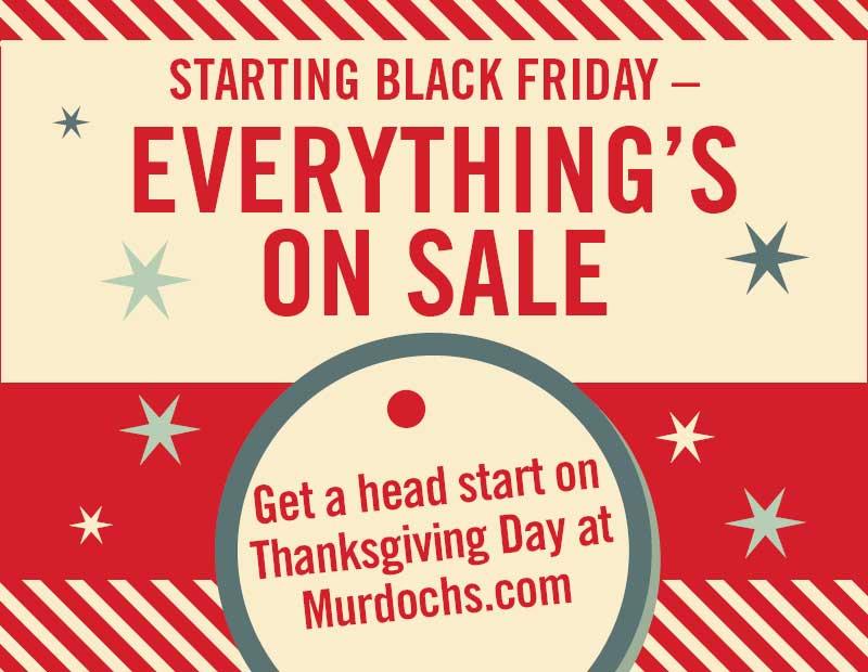 Black Friday Murdoch S