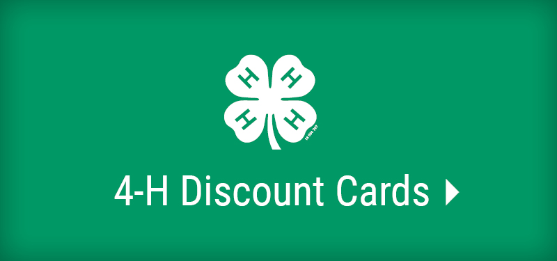 4H Discount Cards