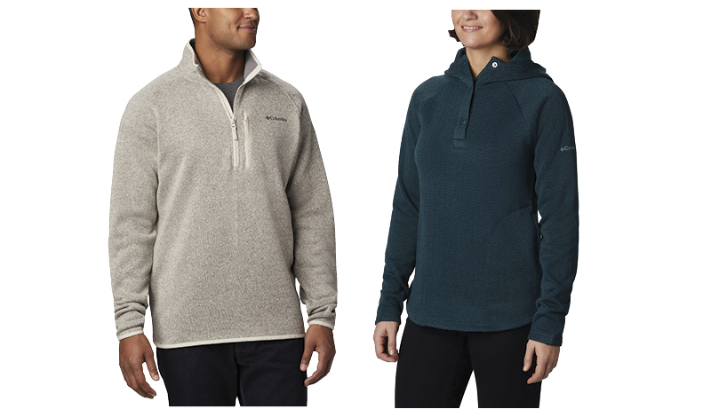 Save 20% Men's and Ladies' Columbia Clothing